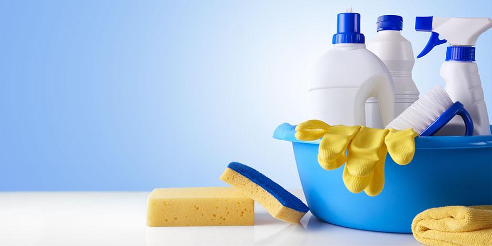 rengørings produkter