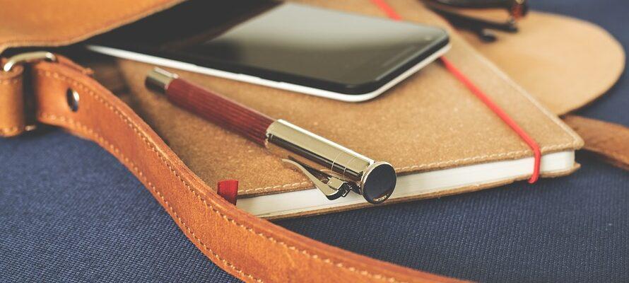 Smartphone i taske