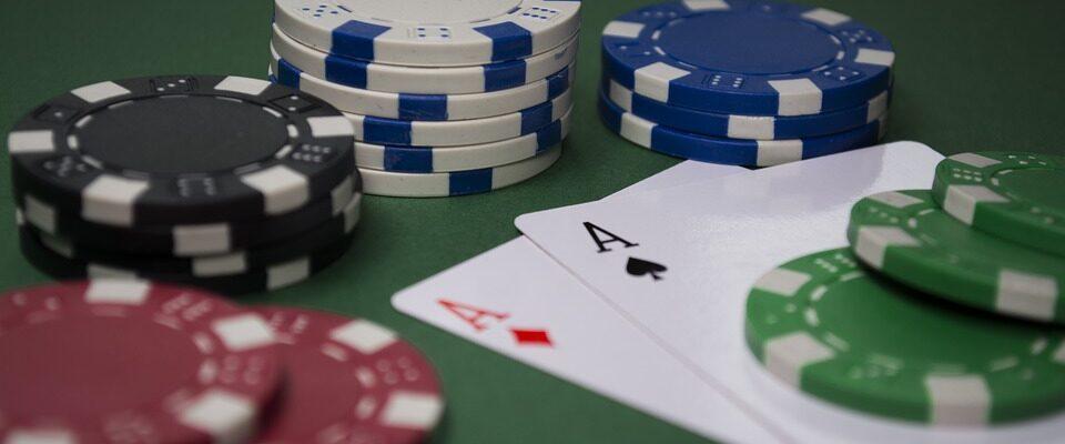 Poker og chips