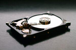 mistede filer på harddisk